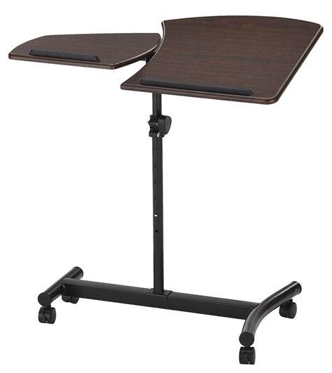 adjustable mobile laptop desk adjustable mobile laptop desk in computer and laptop carts
