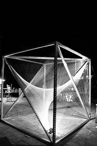 Box Structural Architecture Project Parametric Cube Night