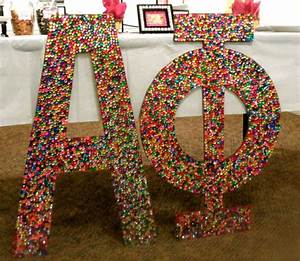 17 best images about glam letters on pinterest zeta tau With bedazzled letters