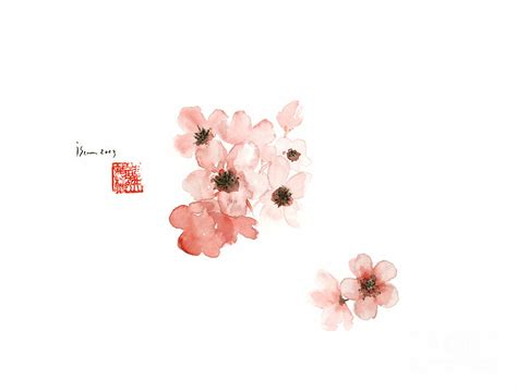 Cherry Blossom Sakura Pink Flower Flowers Delicate Branch