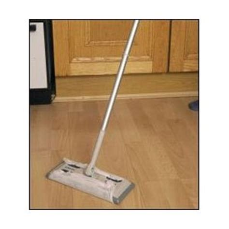 laminate floor dust mops static laminate floor duster cleaner mop with 6 cloths ebay