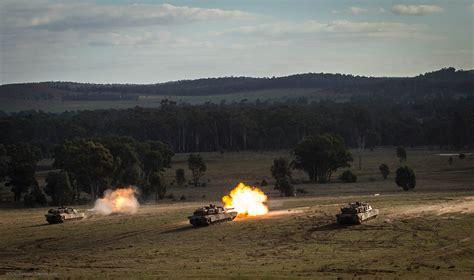 Australian M1A1 Abrams firing | Strategic Bureau of ...