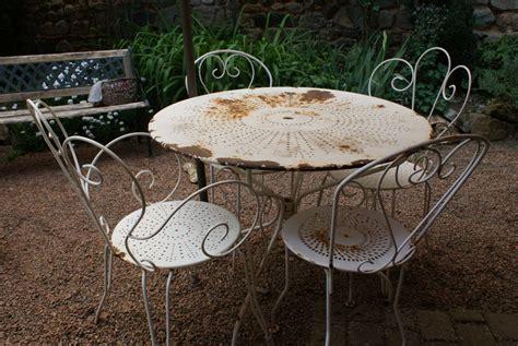 mobilier de jardin ancien en fer forg 233 de conception de maison