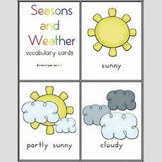 Weather Chart For Preschoolers  Weather Chart