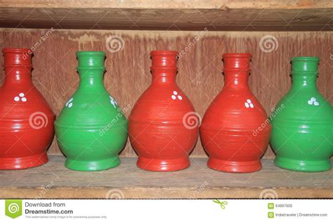 pottery handicraft in kashmir stock photo image 64897600