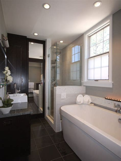 standing tub  shower home design ideas pictures