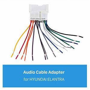 Car Stereo Wiring Harness Audio Cable Plug Adapter For