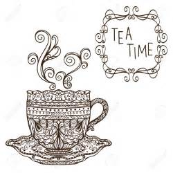 Vintage Tea Party Clip Art