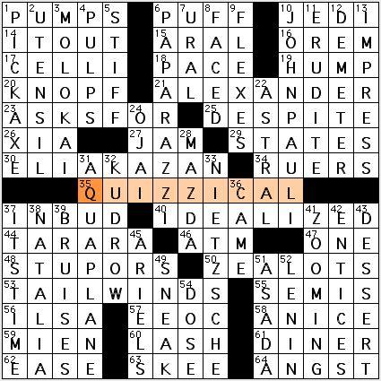 actress jessica crossword puzzle l a crossword confidential april 2010