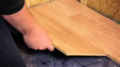 install engineered click lock flooring flooring