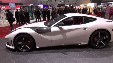 Used 2016 ferrari f12 berlinetta with rwd, navigation. Mansory Ferrari F12 STALLONE: pearl white in superdetail Geneva 2013 - YouTube
