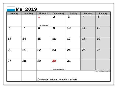 kalender mai  bayern deutschland michel zbinden de