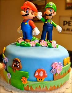 Easy Super Mario Cakes Ideas — FITFRU Style