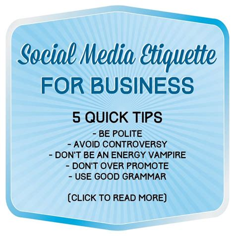social etiquette social media etiquette 101 for businesses from tko graphix blog social media sales