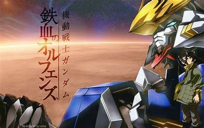 Gundam Orphans Blooded Iron Mobile Suit Wallpapers