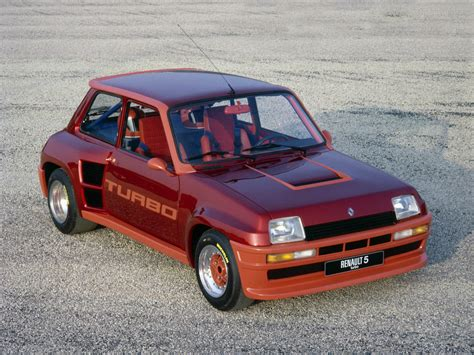 renault 5 turbo renault 5 turbo prototype 1978 old concept cars