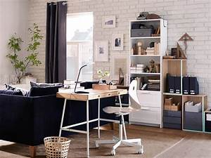 Bureau Design Ikea : home office furniture ideas ikea ~ Teatrodelosmanantiales.com Idées de Décoration