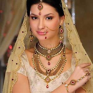 bridal jewelry gold sets designs 2013 by sonoor