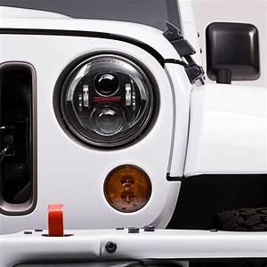 Jeep Wrangler JK Headlights LED JW Speaker 8700 Evoulution