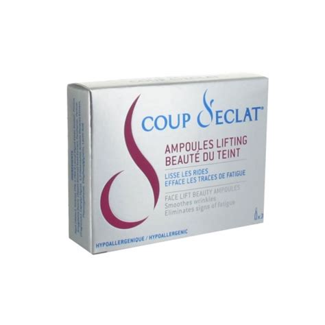 Coup D'eclat Ampoules Lifting 3x1ml Asepta Easyparapharmacie