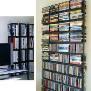 ikea dvd rack ikea lerberg cd dvd rack wall shelf set of 5 discontinued