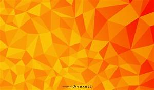 Orange Geometric Polygonal Triangle Texture - Vector download