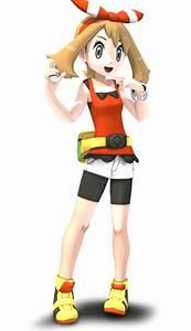 Blender Pokemon OR AS May 3D Render