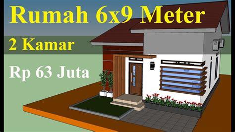 Bahkan di desa pun juga sudah mengaplikasikan desain rumah minimalis maupun rumah modern. Desain Rumah 6x9 Meter Minimalis Sederhana & Anggaran ...