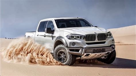 amazing  bmw pickup truck review specs  features