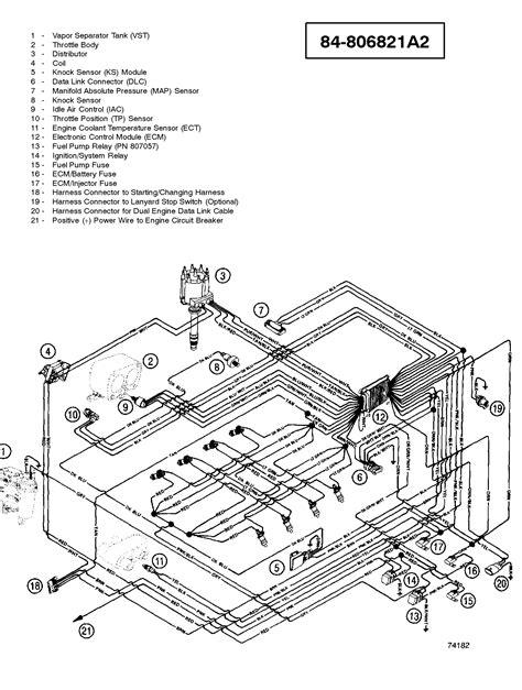 1978 Mercruiser 898 Wiring Diagram by каталог запчастей Mercruiser остальные 350 Mag Mpi Ski Gm