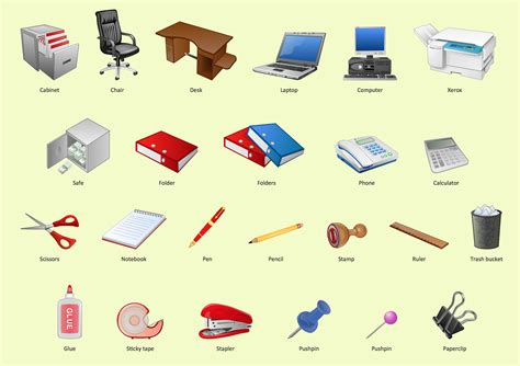 Office Clipart Office Clipart Office Environment Pencil And In Color