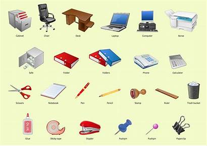 Office Clip Clipart Elements Communication Interior Cliparts