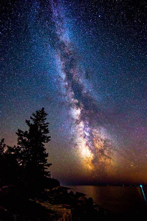 Schoodic Milky Way Jay Wellington