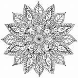 Mandala Coloring Floral Printable Right Mandalas Lotus Sheets Colouring Drawing Tattoo Welshpixie Deviantart sketch template