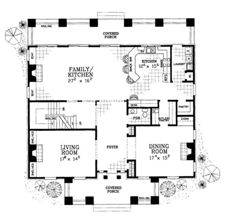 classical style house plan  beds  baths  sqft plan