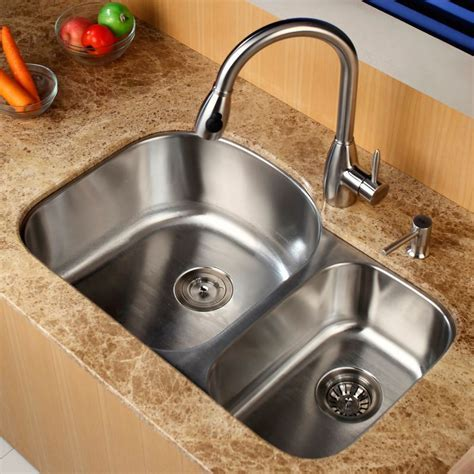 Faucet.com   KBU23 KPF2130 SD20 in Stainless Steel by Kraus