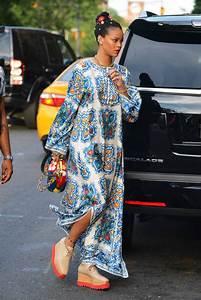 rihanna s maxi dress and maxi shoes lainey gossip lifestyle