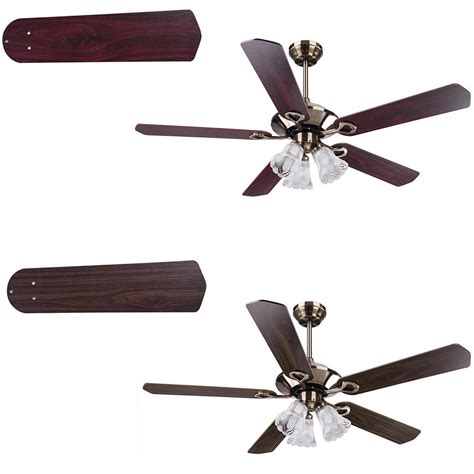 bronze ceiling fan with light and remote 52 quot traditional bronze finish ceiling fan light kit w