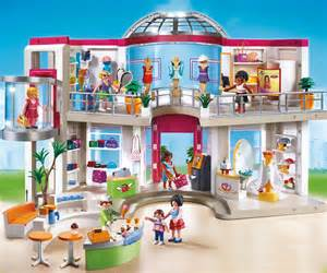 Barbie Fashion Living Room Set by Playmobil 5485 City Life Shopping Centre Amazon Co Uk