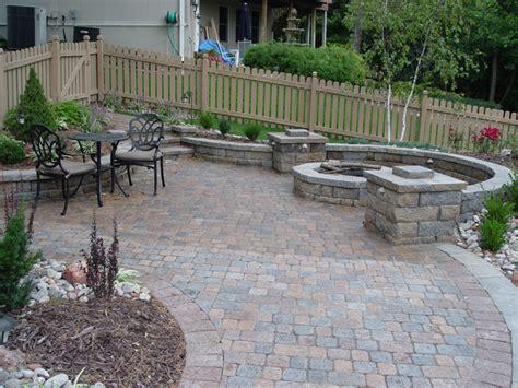 paver patio landscaping ideas paver patios four seasons lawn landscape