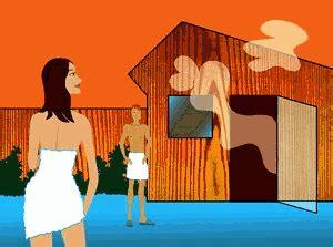 sauna animierte bilder gifs animationen cliparts