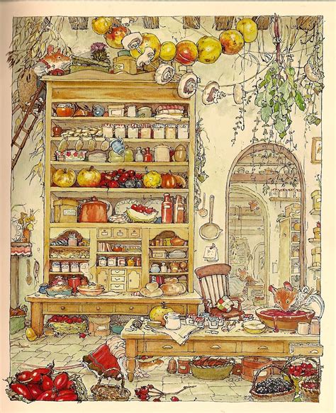 The Well Stocked Pantry by In The Purple House Books To Read While The Canning Pot Boils