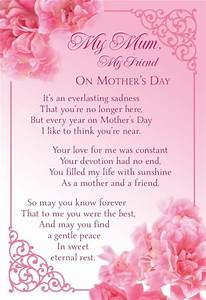 Mothers Day Graveside Bereavement Memorial Cards VARIETY ...