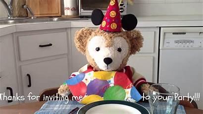 Duffy Bear Disney Birthday Happy Friend