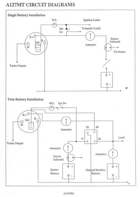 creative lucas  alternator wiring diagram fine