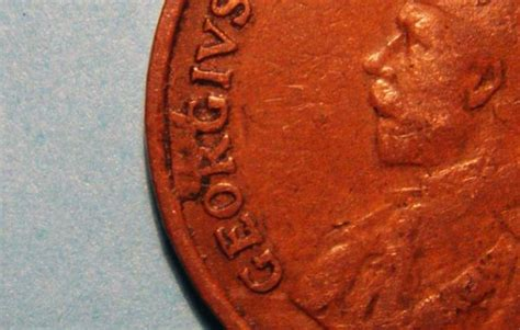 1924 Canada 1 Cent Error ?