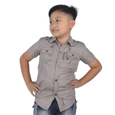 jual atasan baju kemeja anak laki laki terbaru murah casual di lapak mrs bee store mrs beestore