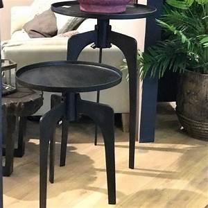 Table D Appoint Haute : table d 39 appoint style indus haute decorelie de l 39 art ~ Nature-et-papiers.com Idées de Décoration