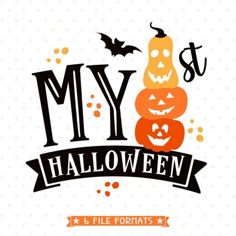 Go premium and upload icons unlimited. My 1st Halloween SVG file - First Halloween cut file ...