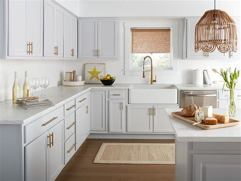 cool calming kitchen makeover  perfect finish blog